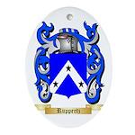 Ruppertz Oval Ornament