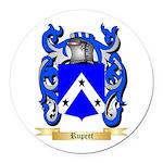Rupert Round Car Magnet