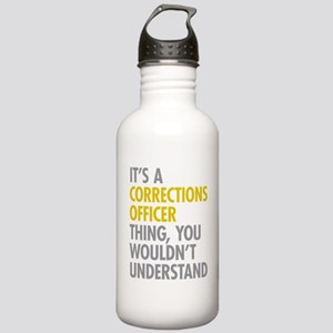 Corrections Officer Th Stainless Water Bottle 1.0L
