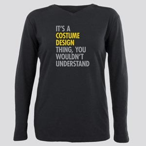 Costume Design Thing Plus Size Long Sleeve Tee