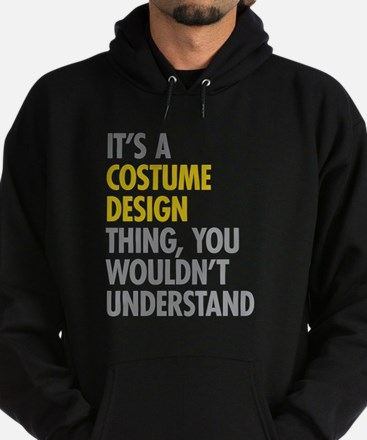 Costume Design Thing Hoodie (dark)