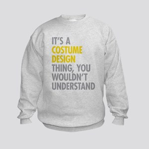 Costume Design Thing Kids Sweatshirt