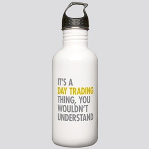 Day Trading Thing Stainless Water Bottle 1.0L
