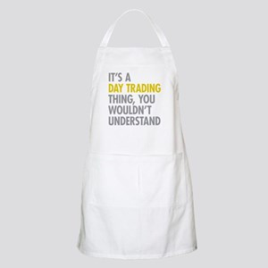 Day Trading Thing Apron