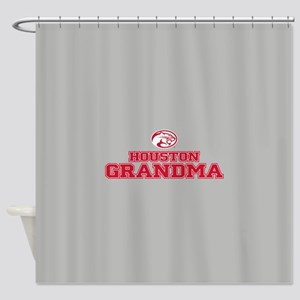 Houston Cougars Grandma Shower Curtain
