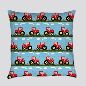 Toy tractor pattern Everyday Pillow