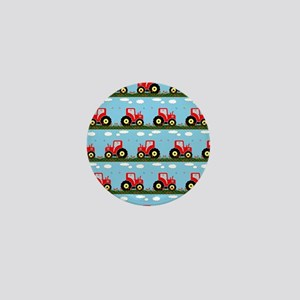 Toy tractor pattern Mini Button