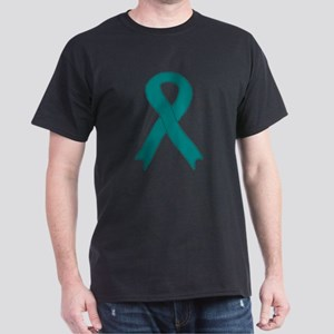 Teal Ribbon Dark T-Shirt