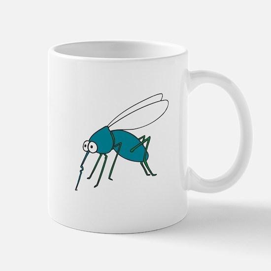 Mosquito blue Mugs