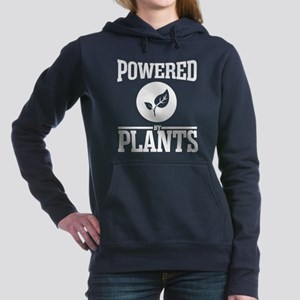 Powered by plants Women's Hooded Sweatshirt