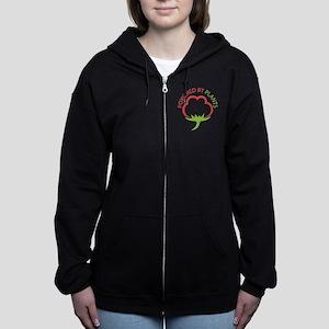 Powered by plants Women's Zip Hoodie