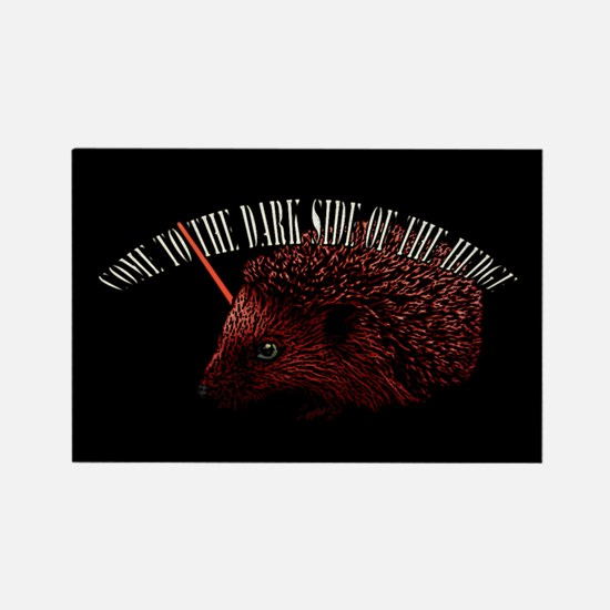 Dark Side Hedgehog Rectangle Magnet