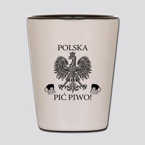 Polish Pride Shot Glass