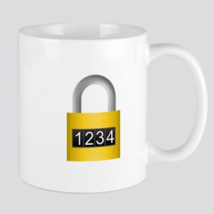 Combination lock Mugs