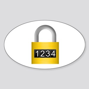 Combination lock Sticker