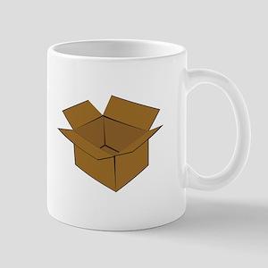 Cardboard Box Mugs