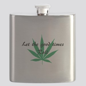 Let the good times roll Flask
