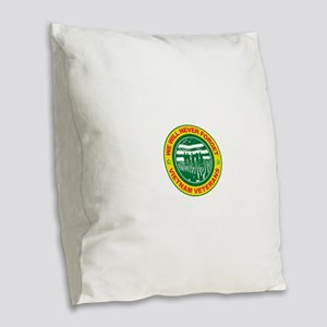 Vietnam Veterans Burlap Throw Pillow