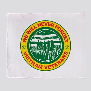 Vietnam Veterans Throw Blanket