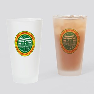 Vietnam Veterans Drinking Glass
