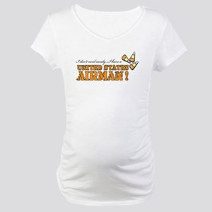 No candy - Air Force Maternity T-Shirt