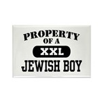 Property of a Jewish Boy Rectangle Magnet