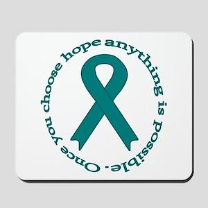 Teal Hope Mousepad