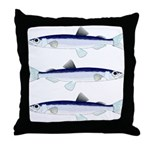 Capelin Throw Pillow
