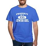 Property of a Jewish Girl Dark T-Shirt