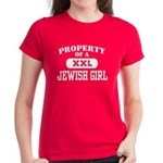 Property of a Jewish Girl Women's Dark T-Shirt