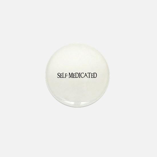 Self-Medicated Mini Button