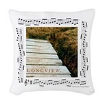 """Longview""&Bridge Woven Throw Pillow"