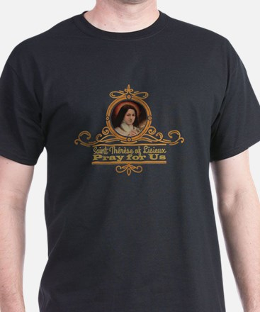 St. Therese Pray for Us T-Shirt