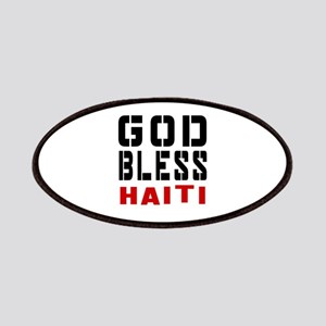 God Bless Haiti Patch