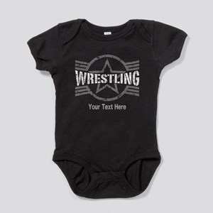 Wrestling Star Personalizable Baby Bodysuit