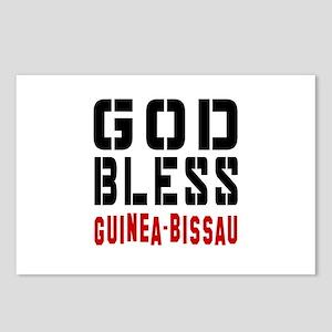 God Bless Guinea-Bissau Postcards (Package of 8)