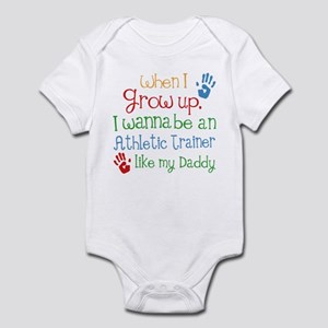 Athletic Trainer Like Daddy Infant Bodysuit