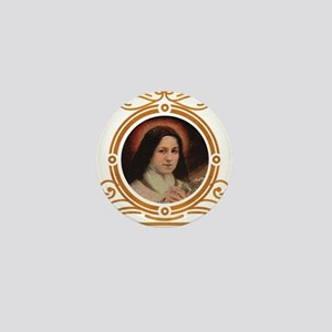 St. Therese Pray for Us Mini Button
