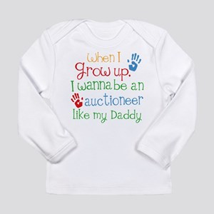Auctioneer Like Daddy Long Sleeve Infant T-Shirt