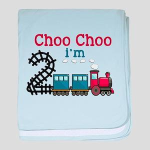 Choo Choo I'm 2 baby blanket
