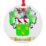Runian Round Ornament