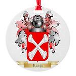 Runge Round Ornament