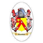 Rumbles Sticker (Oval)
