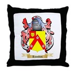 Rumbles Throw Pillow