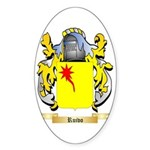 Ruivo Sticker (Oval 10 pk)