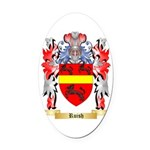 Ruish Oval Car Magnet