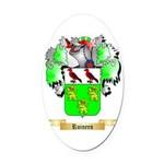 Ruineen Oval Car Magnet