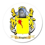 Ruggles Round Car Magnet
