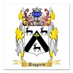 Ruggiero Square Car Magnet 3