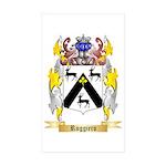 Ruggiero Sticker (Rectangle 50 pk)